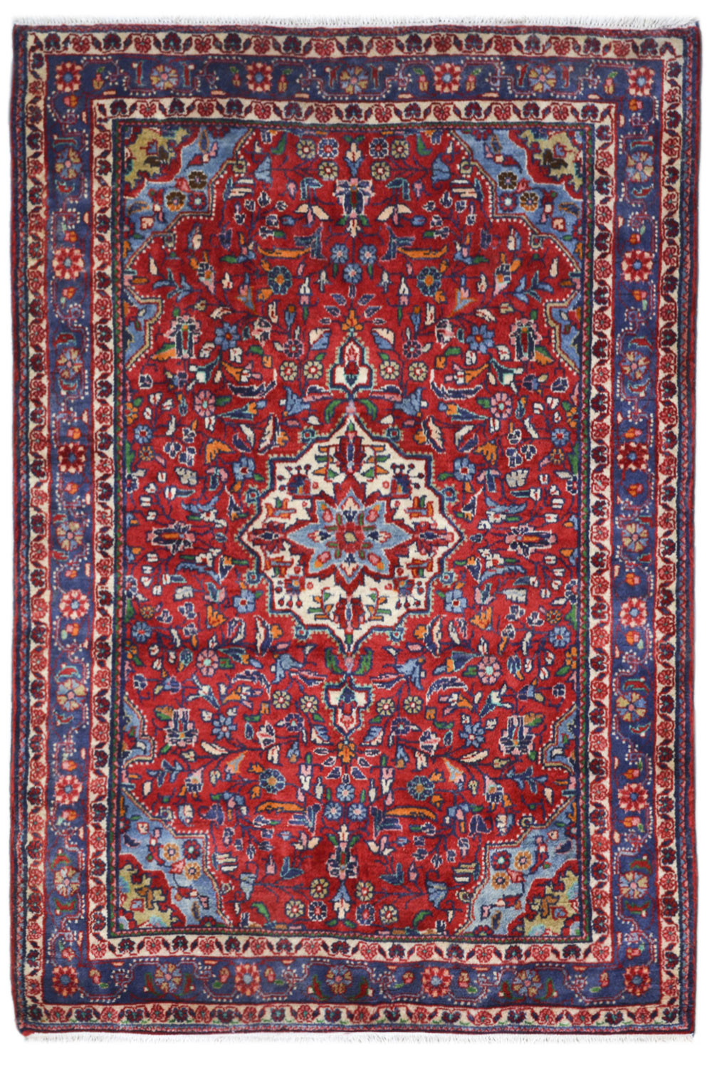 Buy Maroon Phool Kashan Afghan Carpet And Rugs On Sale At