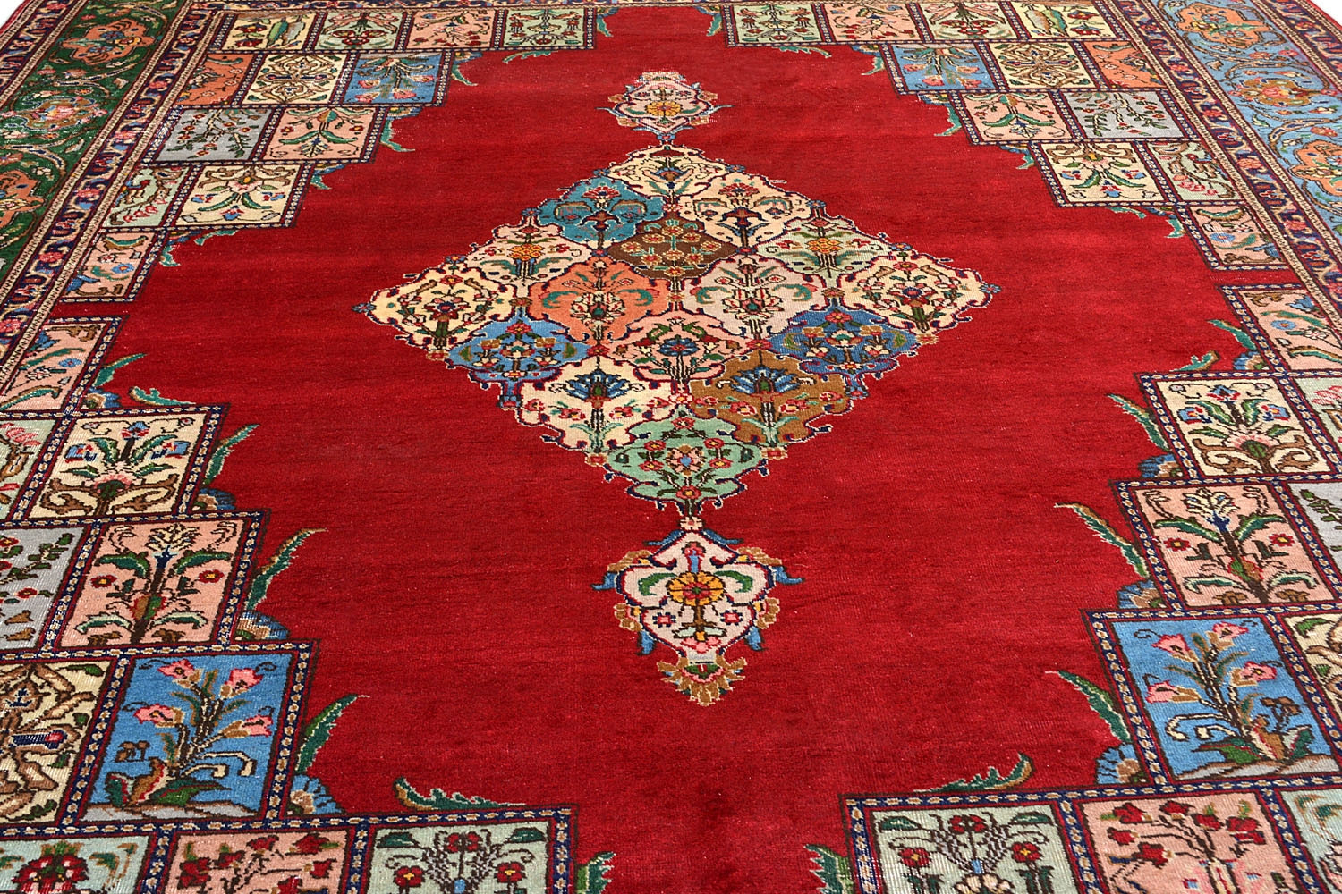 Hamadan Lal Diamond Hand Knotted Carpet From Rugs And Beyond