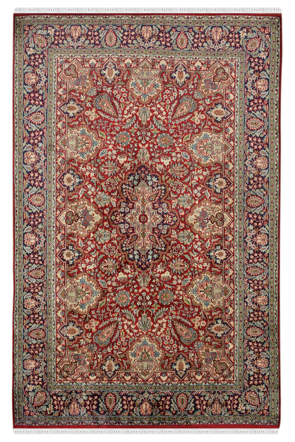 Kashan Motifs Silk Rugs For Sale Online Only At Rugs And