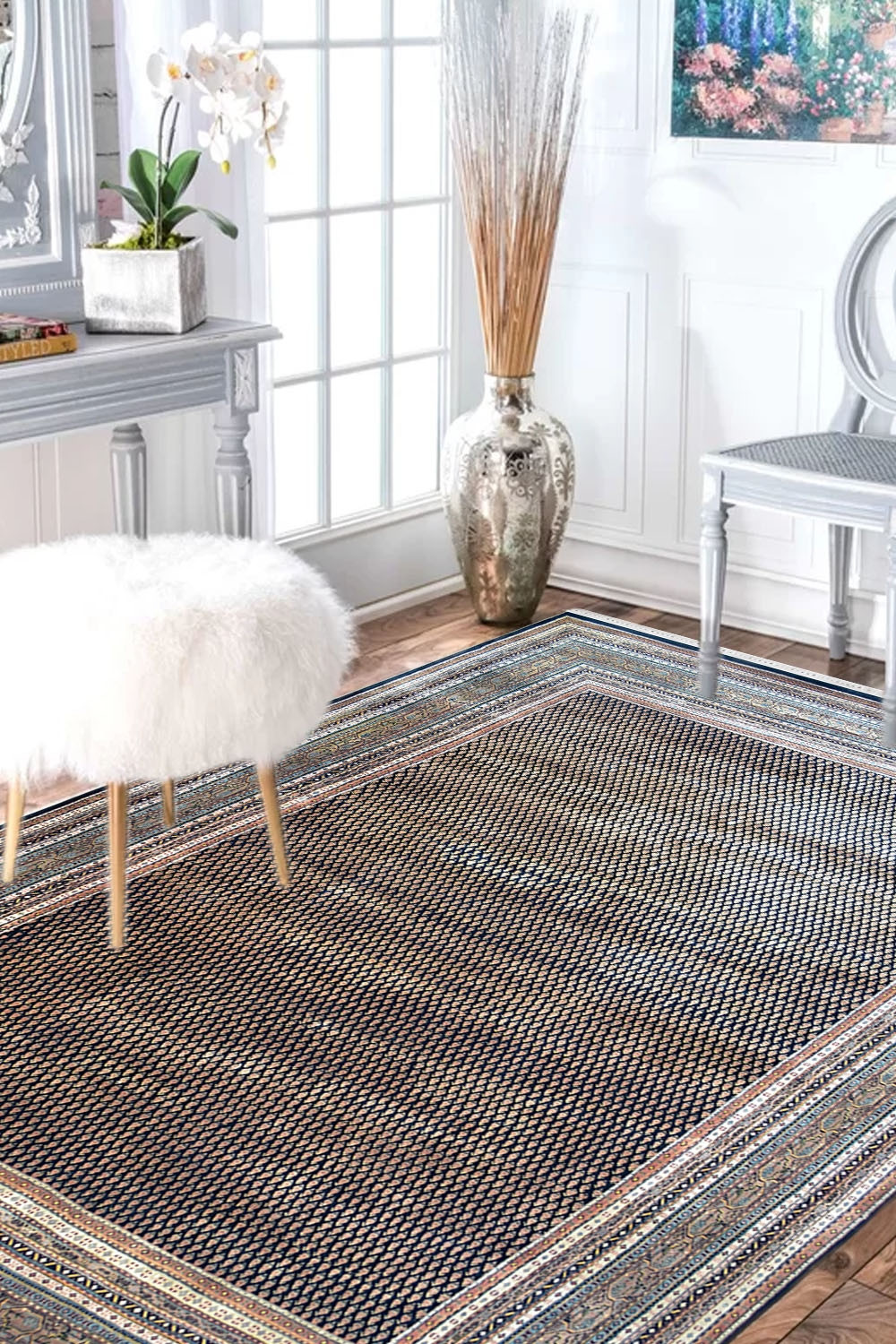 Buy Rugs Online And Snake Print Pure Wool And Cotton