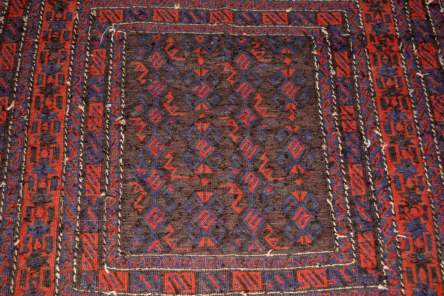 Star Border Handmade Kilim Carpet At Best Price Online