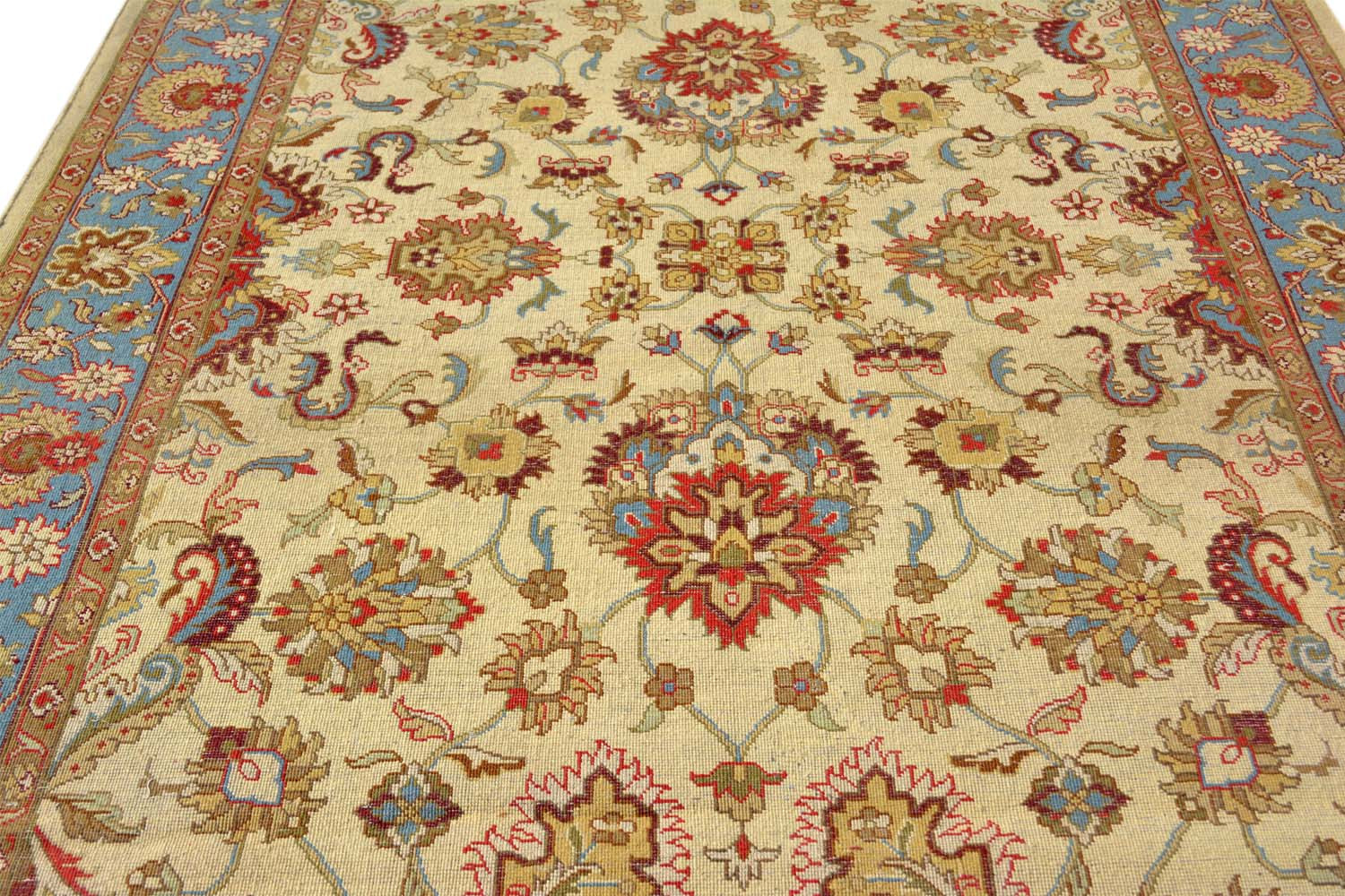 Shop Area Rugs Online Floral Turquoise Wool Rugs In