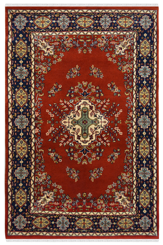 Buy Center Diamond Kashan Wool Area Rug At Resonable Price