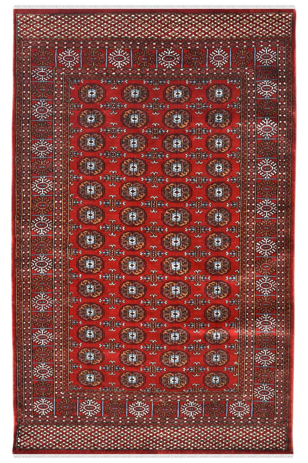 4 X 6 Indian Bukhara Rug Afghan Rugs And Carpet At Rugs