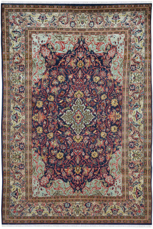 Buy A Shah Abbas Kashmiri Wool Rug At Very Reasonable Price Online