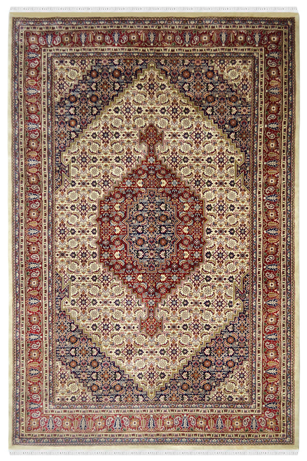 Get Diamond Bidjar Handmade Woolen Area Rug At Best Price