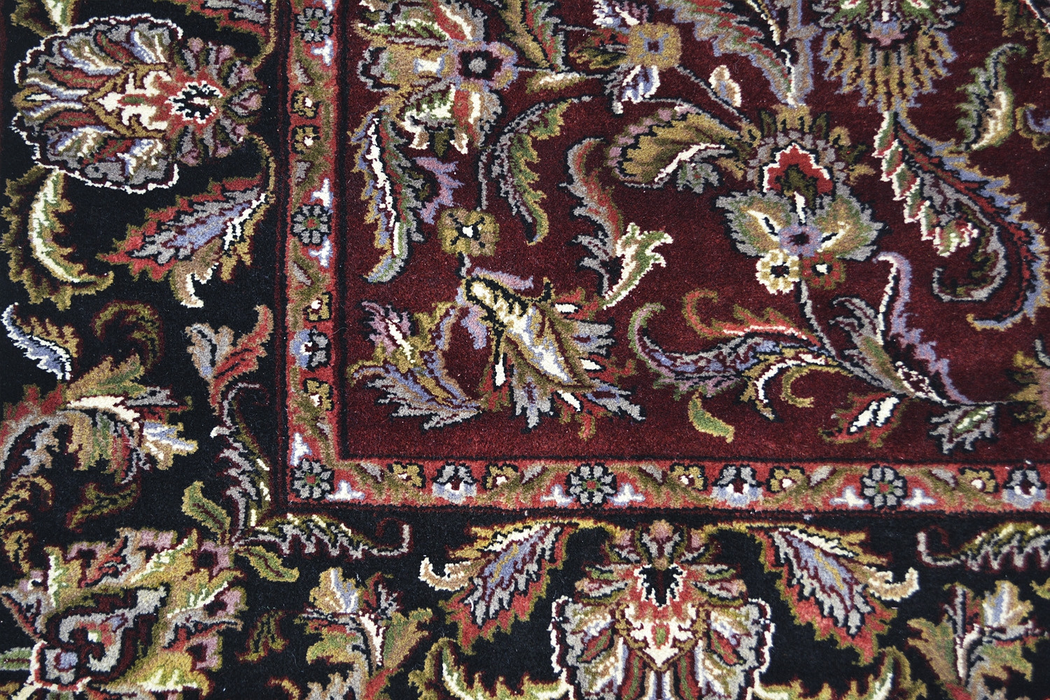 Buy Discount Rugs Online And Jewish Maroon Handknotted