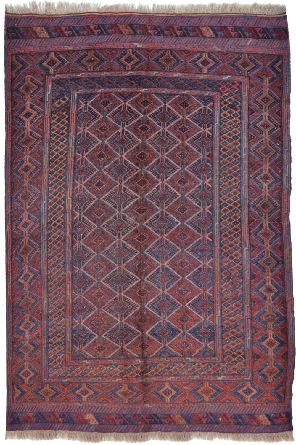 Shop Quot One Of A Kind Quot Muska Kilim Flat Woven Area Rug From