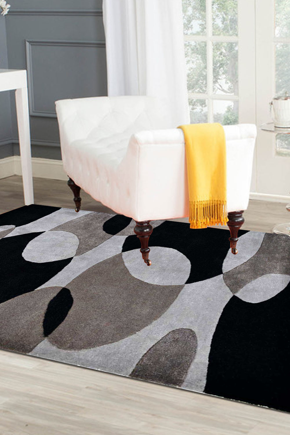 5 1 X 7 0 Faded Light Rug Modern Rugs And Carpets
