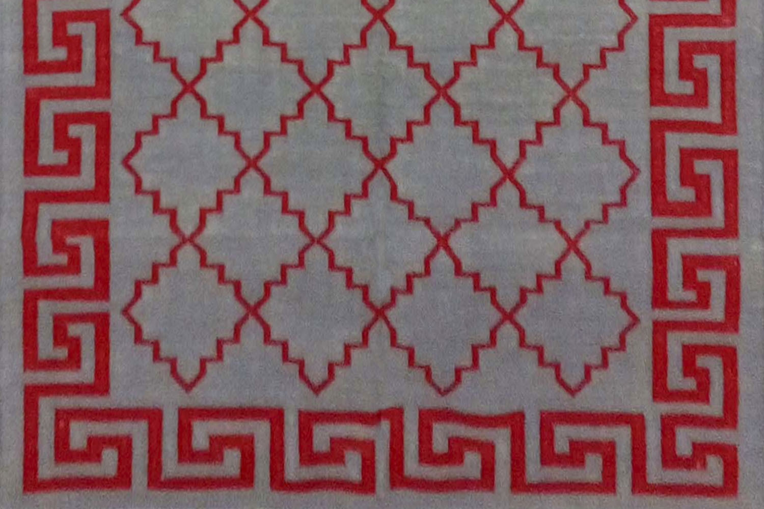 Buy Contemporary Design Indian Cotton Dhurrie Rugs In