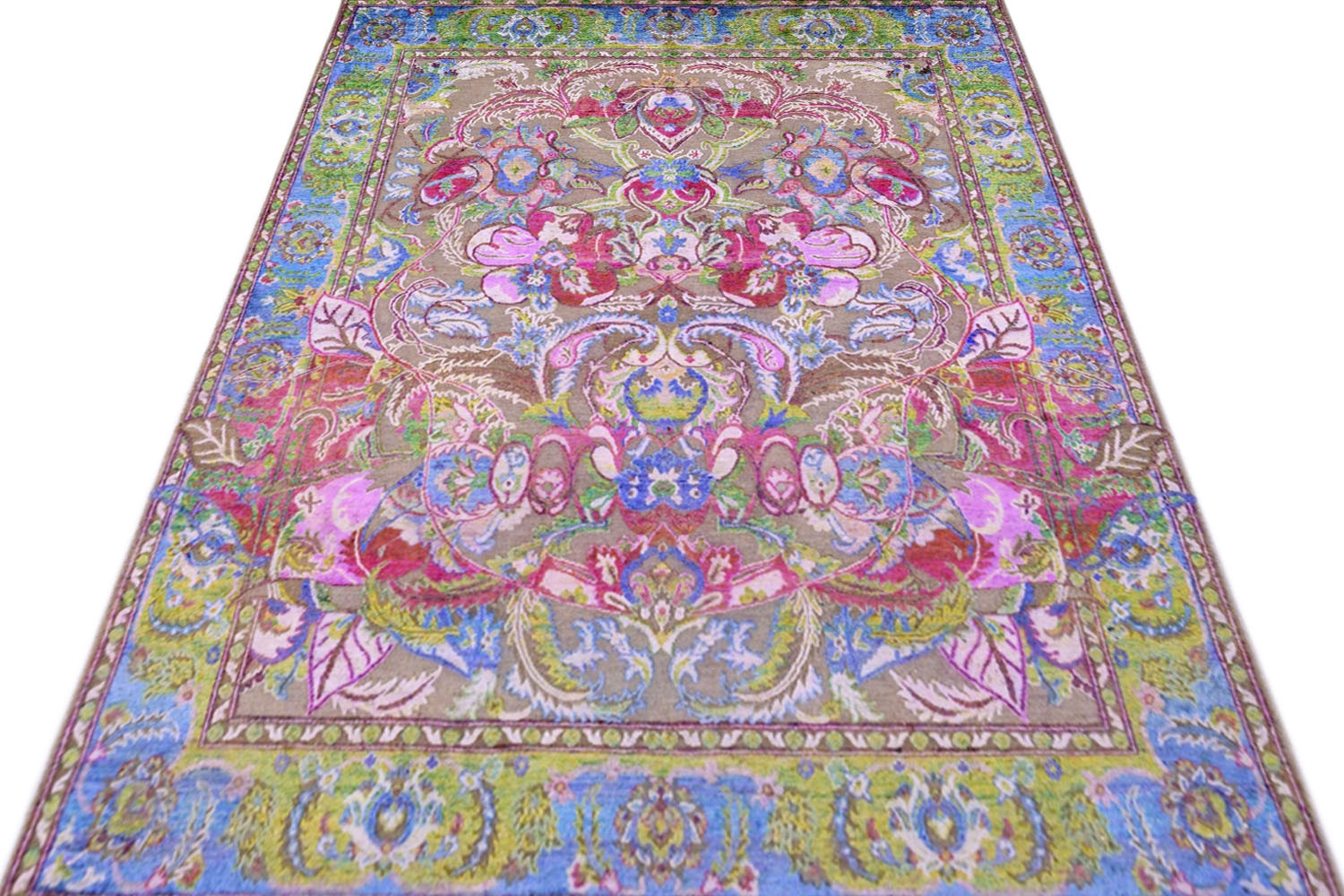 Shop Floral Pattern Area Carpet With Best Quality And