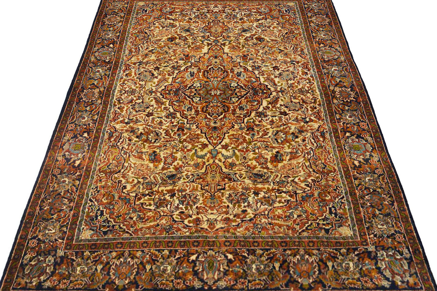 Grab This Handmade Sona Medallion Wool Rug At Amazing