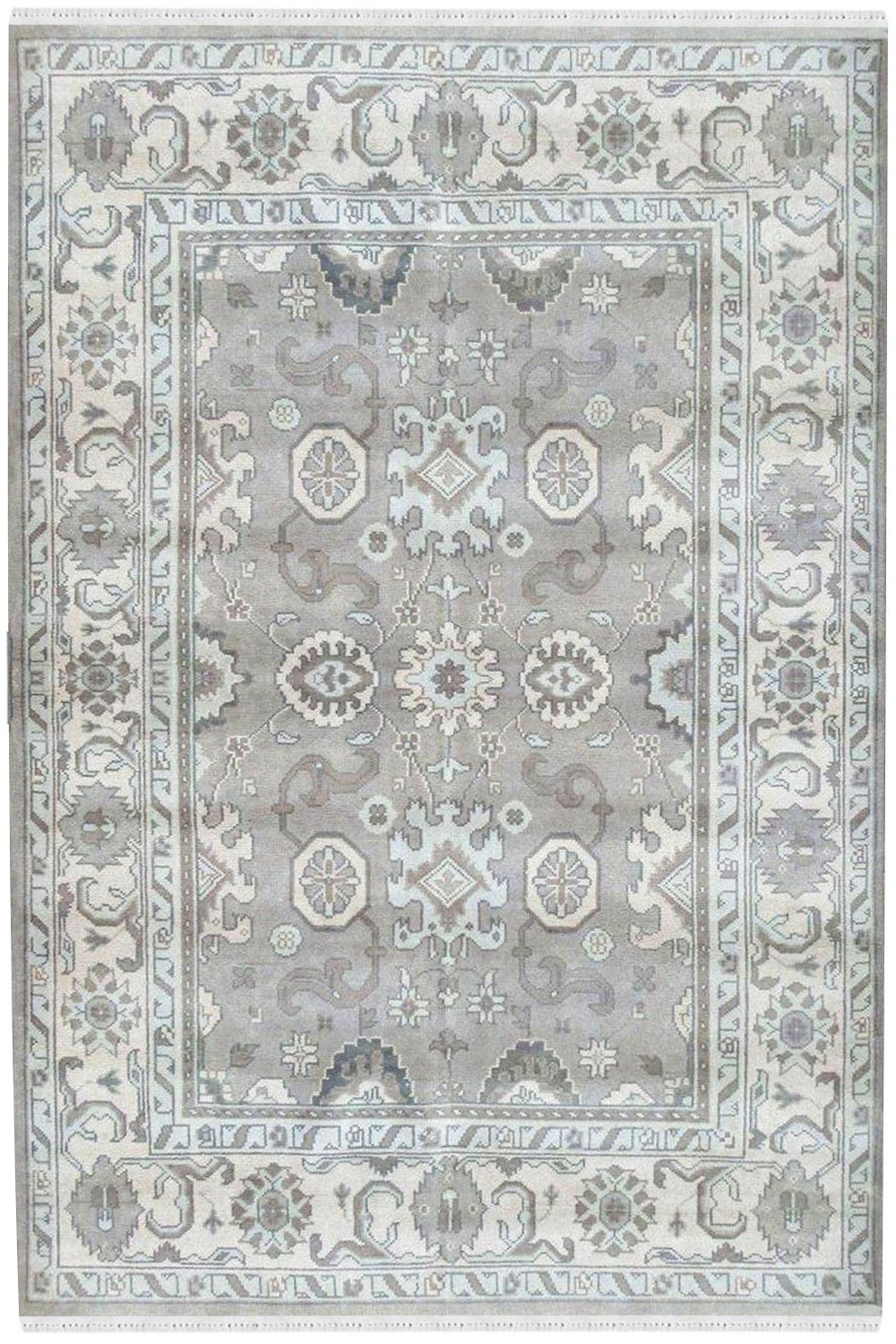Buy Light Color Classy Mughal Rug And Carpet In