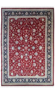 All over floral kashan Carpet