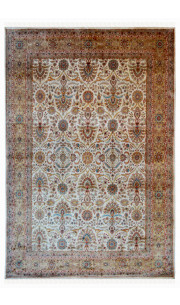 French Patti Woolen Area Rug
