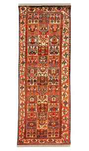 Caucasian Magic Box Afghan Runner