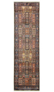 Traditional Qum Handmade Area Rug