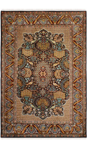 Blue Diamond Kashan Area Carpet