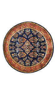 Neel Mughal Round Area Rug