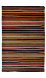Blurred Lines Woolen Carpet