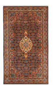 Applique Bidjar Woolen Area Rug