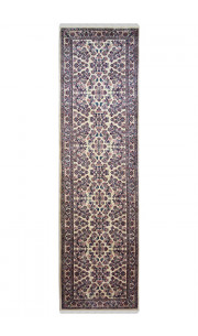 Flower Patti Traditional Wool Runner