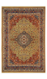 Flower Bagh Kasmiri Woolen Carpet