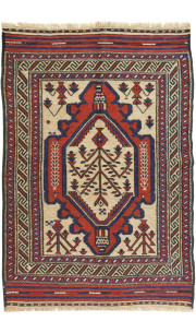 Floral Tribal Kilim Carpet