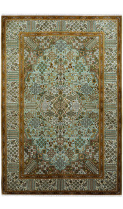 Royale Kashan Silk Carpet