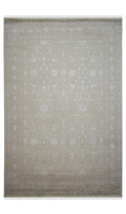 Floral Tikka Best Handknotted Wool Area Rug