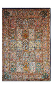 Jewel Mumtaz Hamadan Silk Carpet