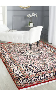 Salmon Kashan Hand Knotted Carpet