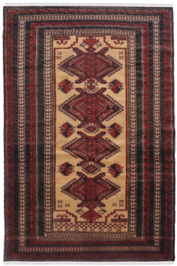 Turkish Afghan Area Rug