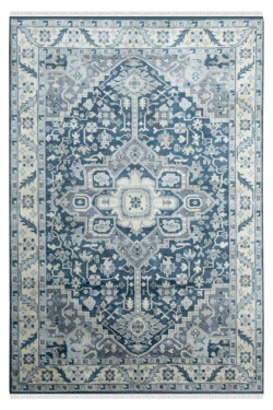 Embossed Area Monochrome Area Rug