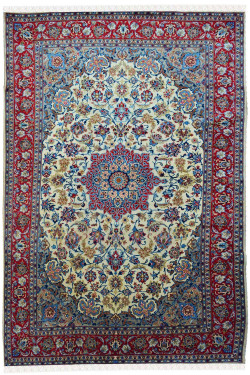 Persian Medallion Handmade Area Rug