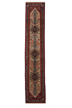 Emirate of Bukhara Handknotted Wool Runner