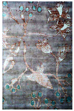 Fish Net Beautiful Handknotted Area Rug