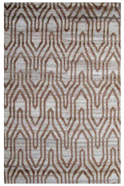 Continuity Bar Contemporary Moroccan Area Rug 5x8 ft