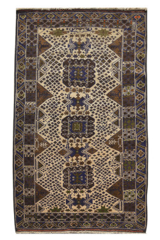 Caucasian Afghan Rug