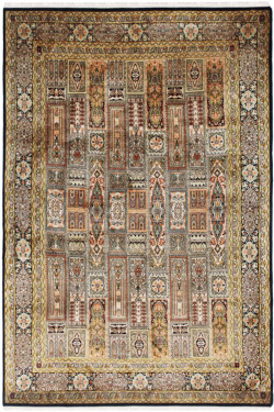 Jewel Pendulum Qum Handmade Carpet