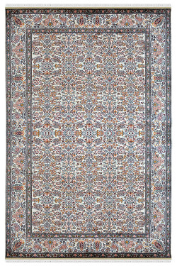 Kashmiri Silk on Cotton Handknotted Carpet