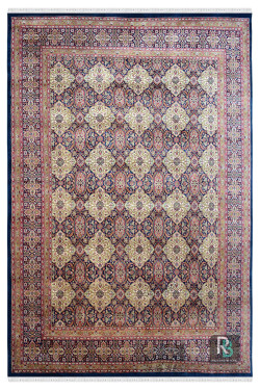 Ivory Afshar Classic 9 X 12 Feet Wool Area Rug