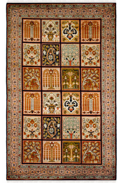 Panel Qum Handmade Carpet