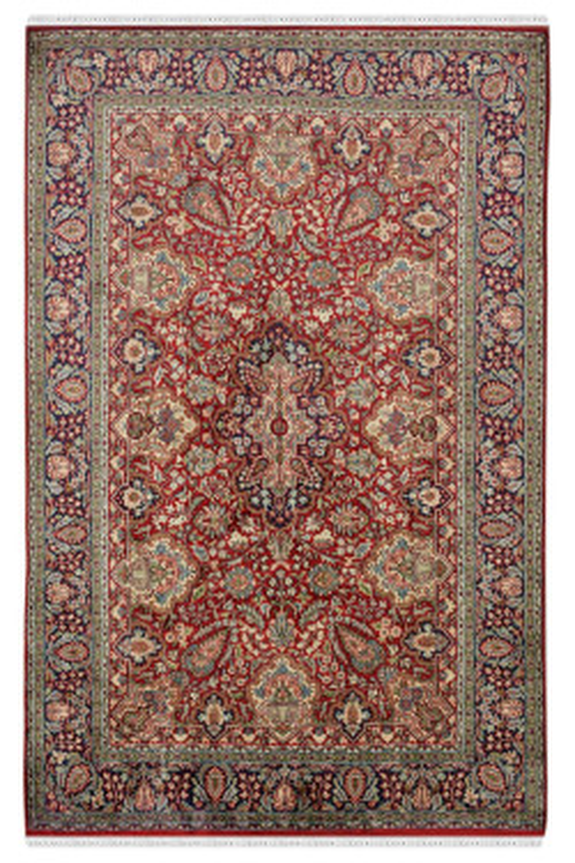 Kashan Motifs Hand Knotted Carpet