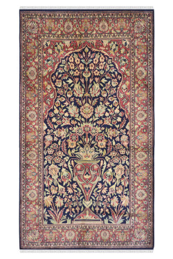 Gumbad Tree of Life Pure Silk Carpet
