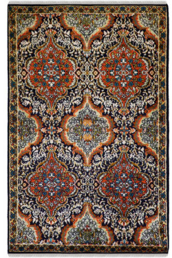 Neel Rust Kirman Handmade Carpet