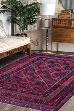 All Over Kilim Area Rug