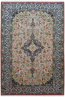 Triple Kohinoor Handknotted Carpet