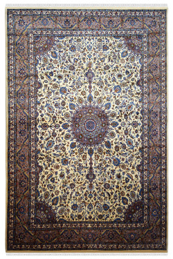 Ivory Pradhan Traditional Wool Rug