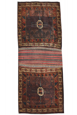 Patchwork Kilim Flat-Woven Rug
